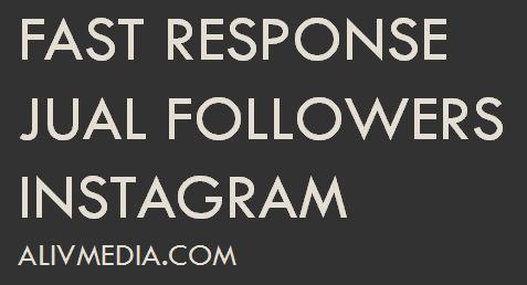 fast response jual followers instagram